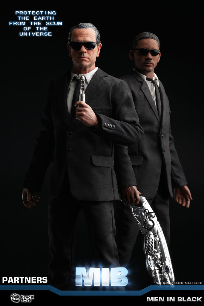 16 Scale Men In Black Agent J Agent K Deluxe Figure Set By Black Toys