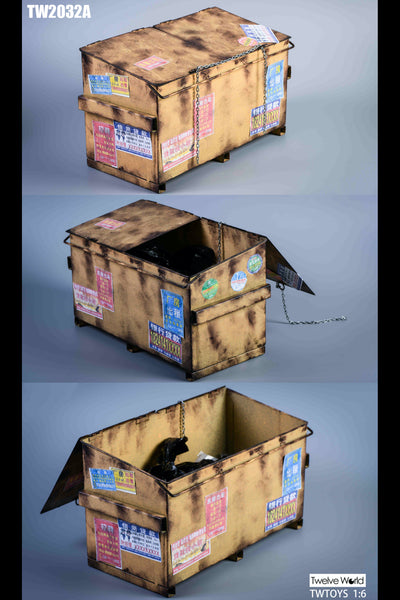 1/6 Scale Dumpster (3 Colors) by TW Toys