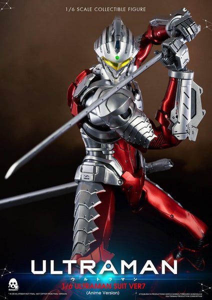 1/6 Scale ULTRAMAN Suit Ver.7 Figure (Anime Version) by threezero