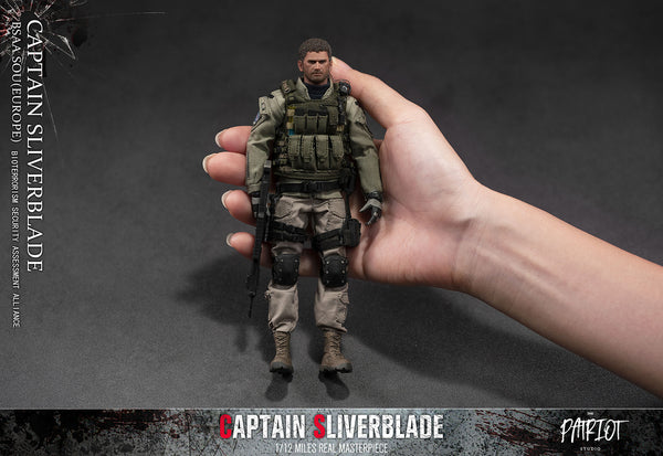 1/12 Scale Captain Sliverblade BSAA SOU Figure (Deluxe Version) by Patriot Studio