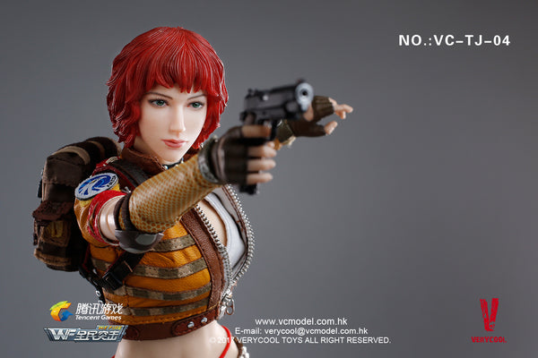1/6 Scale Female Mercenary Heart King Figure by VeryCool
