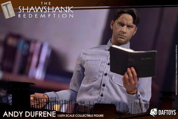 1/6 Scale The Shankshaw Redemption Andy Head Sculpt & Outfit Set by DAFTOYS