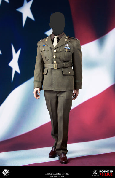 1/6 Scale Captain Rogers WWII Army SSR Uniform by Pop Toys