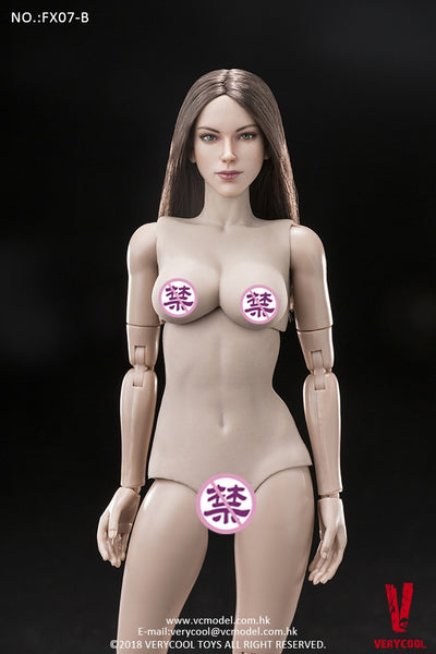 1/6 Scale Supermodel Head Sculpt and Female Body Set (Version B) by VERYCOOL