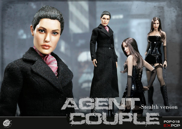 1/6 Scale Agent Couple Mrs. Smith SM Figure by Pop Toys