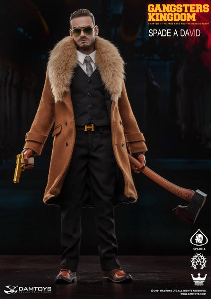 1/6 Scale Gangsters Kingdom - Spade A David Figure by DamToys