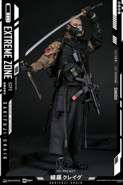 1/6 Scale Extreme Zone - Samurai Sakifuji Craig Figure by DamToys