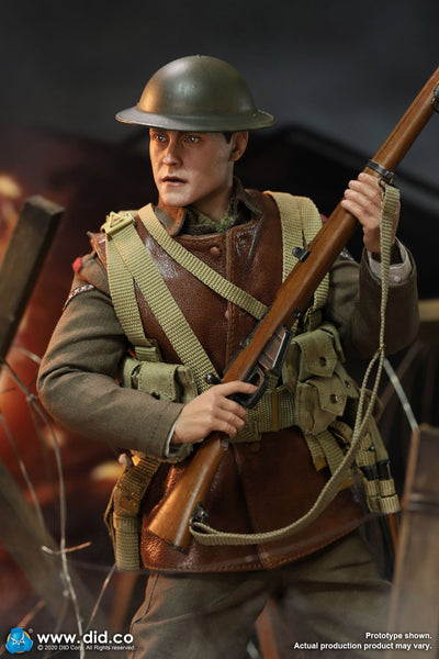 1/6 Scale WWI British Infantry Lance Corporal William Figure by DID