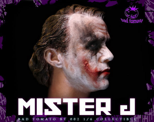 1/6 Scale Mr. J Head Sculpt by Bad Tomato