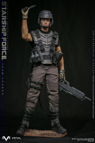 1/6 Scale Starship Force - Team Leader Figure (Standard Version) by VTS Toys