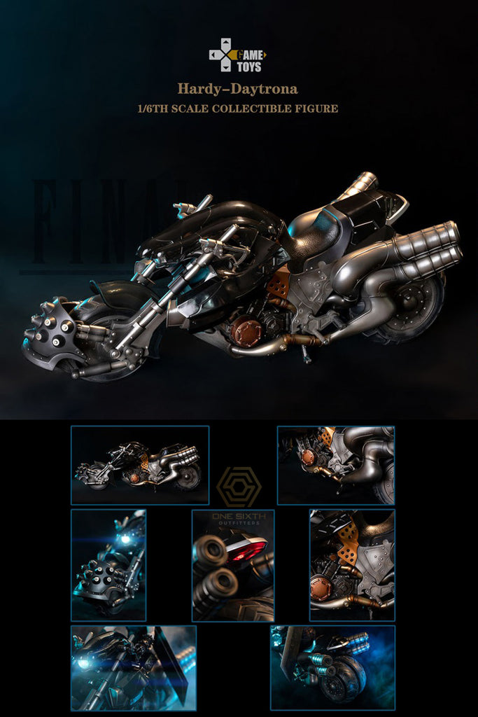 1/6 Scale H-D Motorcycle by Game Toys