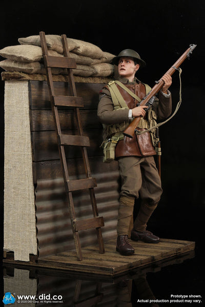 1/6 Scale WWI Trench Diorama Set by DID