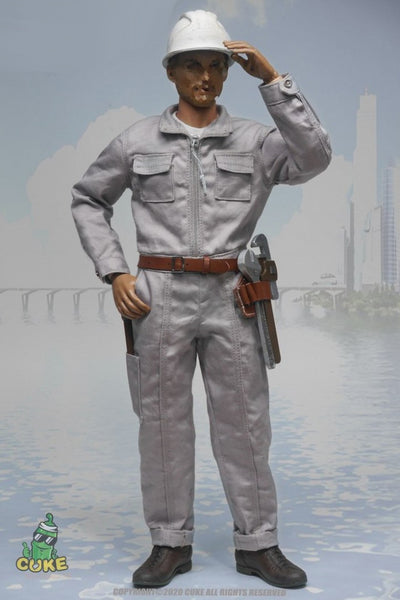 1/6 Scale Coveralls by Cuke Toys
