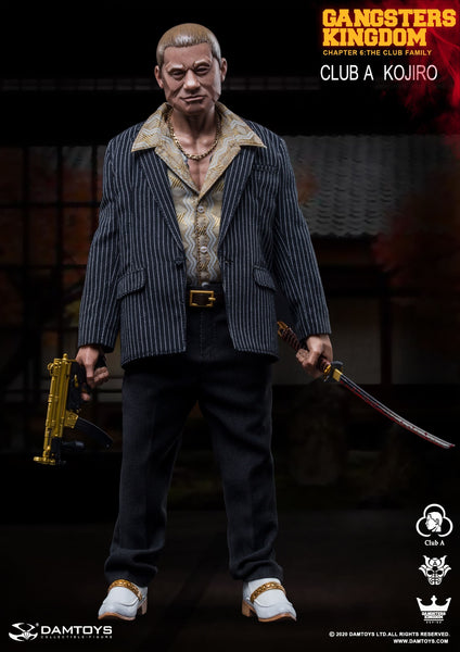 1/6 Scale Gangsters Kingdom - Club A Kojiro Figure by DamToys