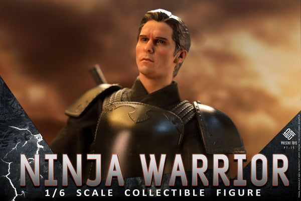 1/6 Scale Ninja Warrior Figure Set by Present Toys
