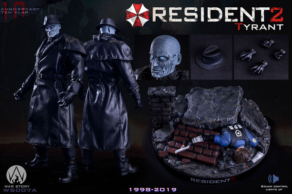 1/6 Scale Resident 2 - Tyrant Figure (Deluxe Version) by War Story