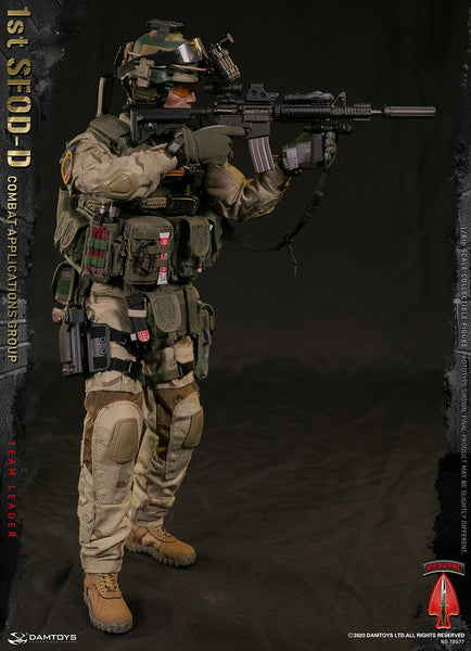 1/6 Scale 1st SFOD-D  Combat Applications Group - Team Leader Figure by DamToys