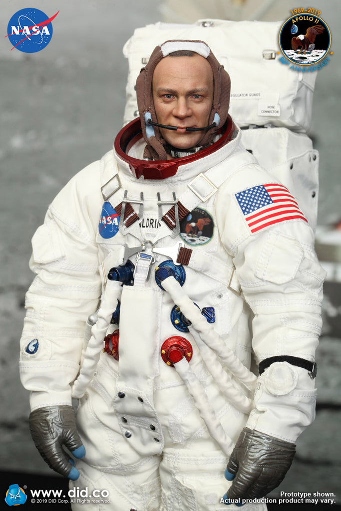 1/6 Scale Apollo 11 Lunar Module Pilot - Buzz Aldrin Figure by DID