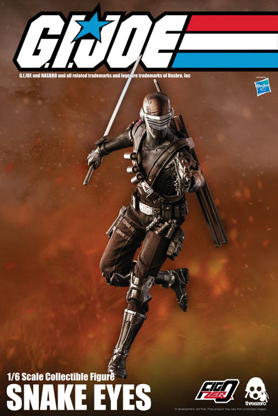 1/6 Scale G.I. Joe - Snake Eyes Figure by Threezero