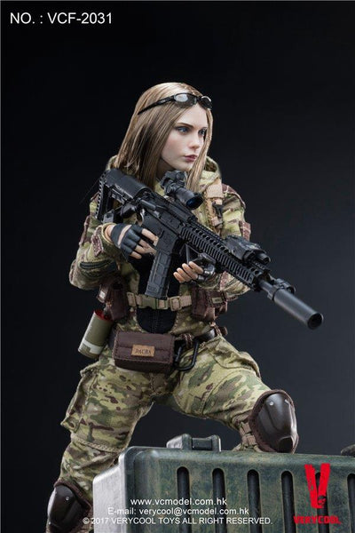 1/6 Scale MC Villa Camouflage Soldier by VeryCool