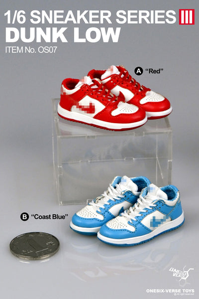 1/6 Scale Low Sneaker (6 Colors) by ONESIX-VERSE TOYS