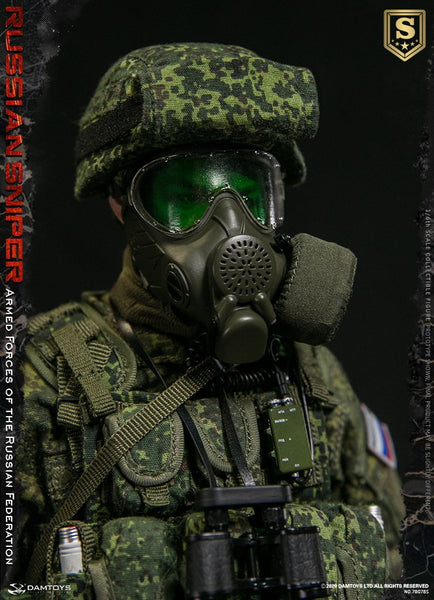 1/6 Scale Armed Forces of the Russian Federation -  Russian Sniper Figure (Special Edition) by DamToys
