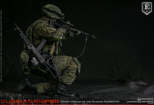 1/6 Scale Armed Forces of the Russian Federation -  Russian Sniper Figure (Elite Edition) by DamToys