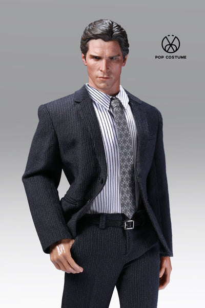 1/6 Scale Men's Striped Suit (3 Colors POP-X28) by Pop Toys