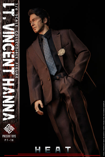 1/6 Scale Heat - Lt. Vincent Hanna & Neil McCauley Figure Bundle by Present Toys