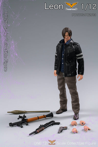 1/12 Scale Leon Figure by PWTOYS X POCKET WORLD