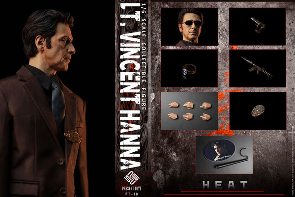 1/6 Scale Heat - Lt. Vincent Hanna Figure by Present Toys