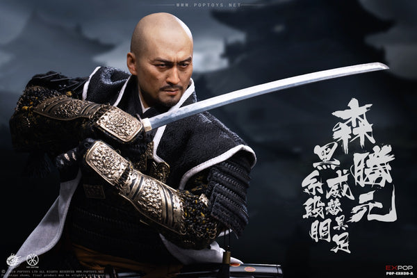 1/6 Scale Benevolent Samurai Katsumoto Figure (Standard Version) by Pop Toys
