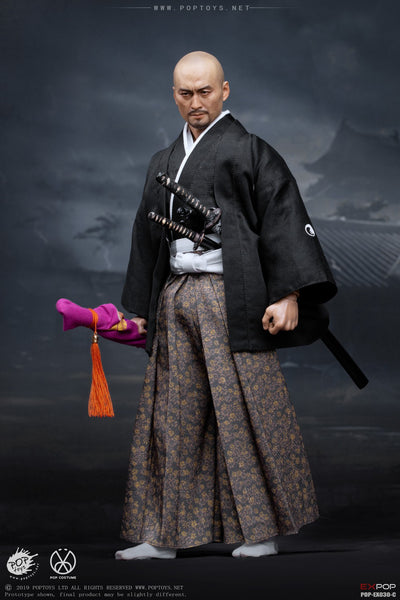 1/6 Scale Benevolent Samurai Katsumoto Accessory Pack by Pop Toys