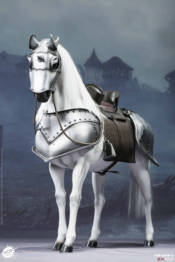 1/6 Scale Saint Knight - War Horse Figure by PopToys