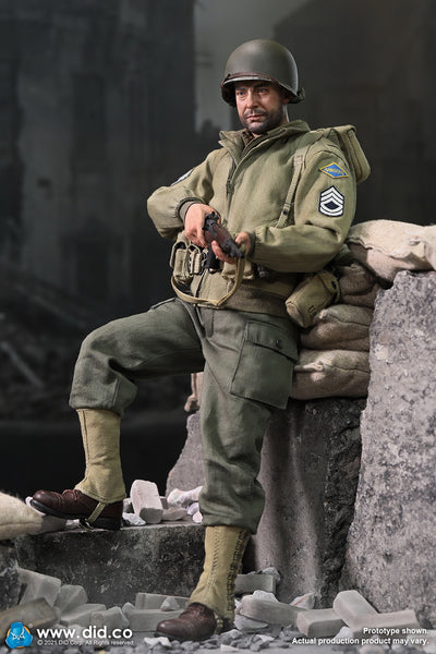 1/6 Scale WWII US 2nd Ranger Battalion - Sergeant Horvath Figure by DID