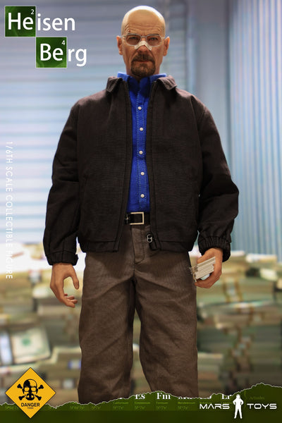 1/6 Scale Heisenberg Head Sculpt & Outfit Set (Say My Name Version) by Mars Toys