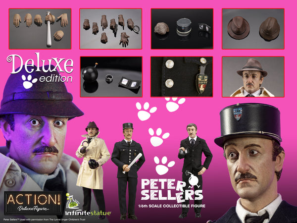1/6 Scale Peter Sellers Figure (Deluxe Edition) by Kaustic Plastik