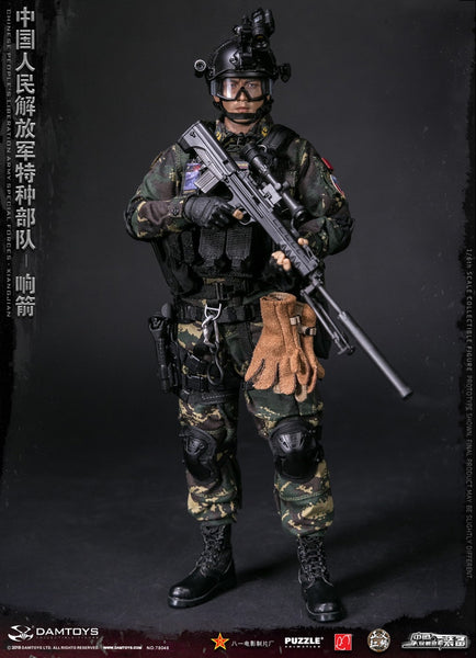 1/6 Scale Chinese People's Liberation Army Special Forces - XIANGJIAN Figure by DamToys