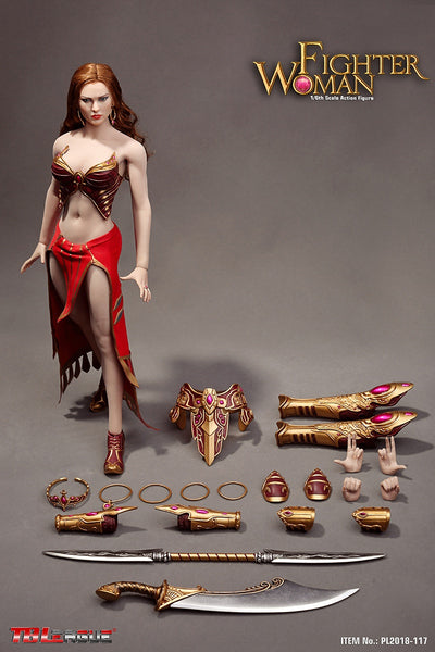 1/6 Scale Fighter Woman Figure by TBLeague