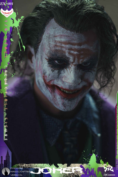 1/6 Scale Criminal Joker Figure by DJ Custom