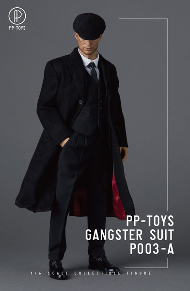 1/6 Scale Gangster Suit Set (4 Colors) by PP-Toys