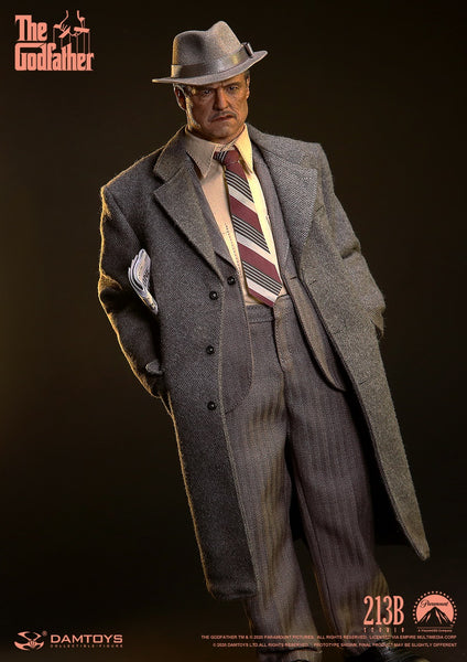 1/6 Scale The Godfather (1972) - Vito Corleone Figure (Golden Years Version) by DamToys
