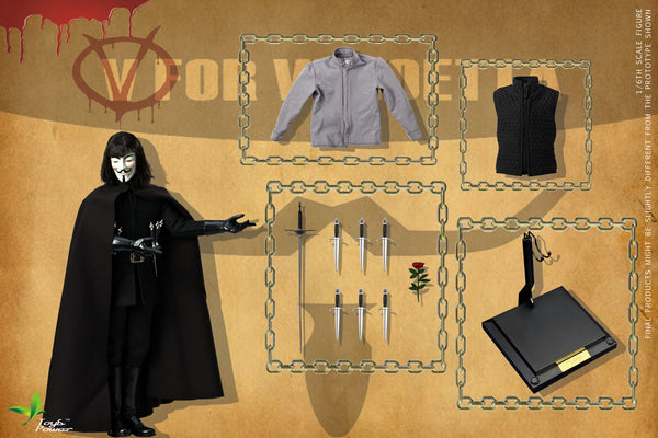 1/6 Scale V for Vendetta 2.0 Figure by Toys Power