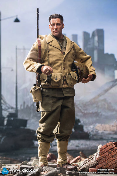 1/6 Scale WWII U.S. 2nd Ranger Battalion - Private First Class Reiben Figure by DID