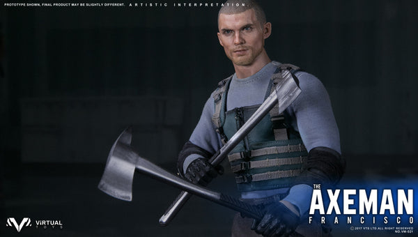 1/6 Scale Axeman Francis Figure by Virtual Toys VTS