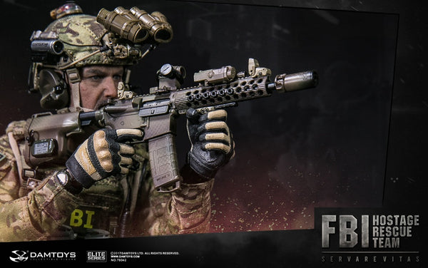 1/6 Scale FBI HRT Agent Hostage Rescue Team Figure by DamToys
