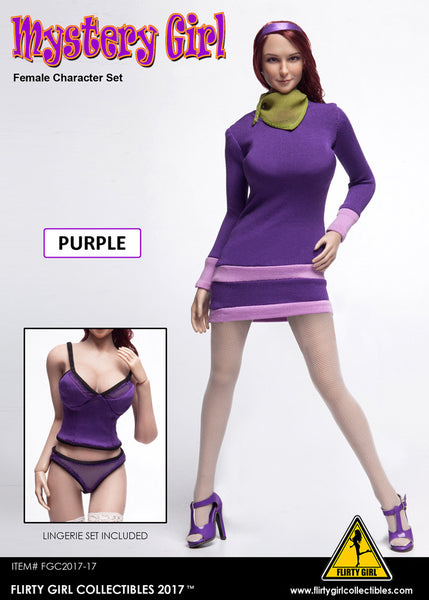1/6 Scale Mystery Girl Daphne Outfit by Flirty Girl