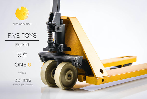 1/6 Scale Forklift by Five Toys