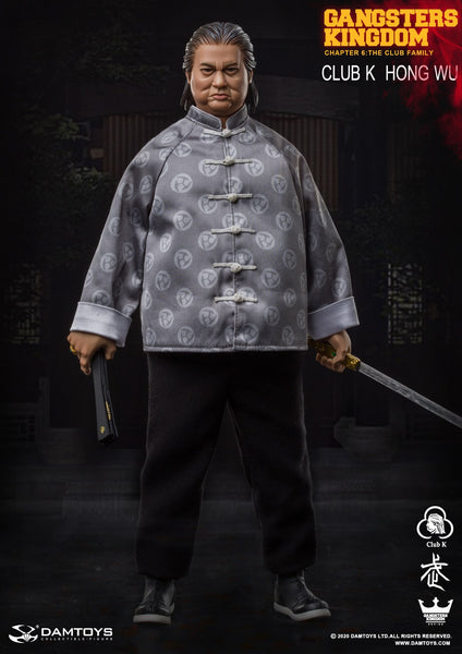 1/6 Scale Gangsters Kingdom - Club K Hong Wu by DamToys