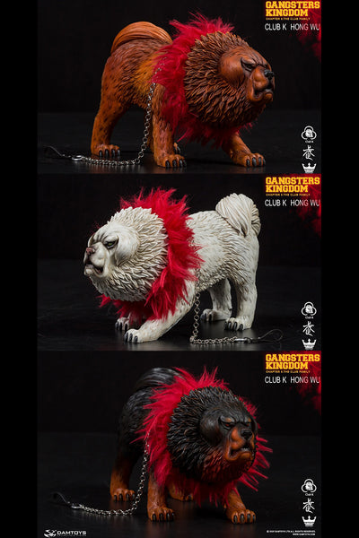 1/6 Scale Tibetan Mastiff Figure by DamToys